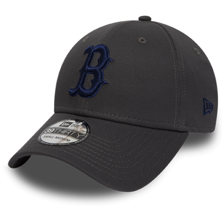 New Era 39THIRTY LEAGUE ESSENTIAL BOSTON RED SOX - Klubowa czapka z daszkiem męska