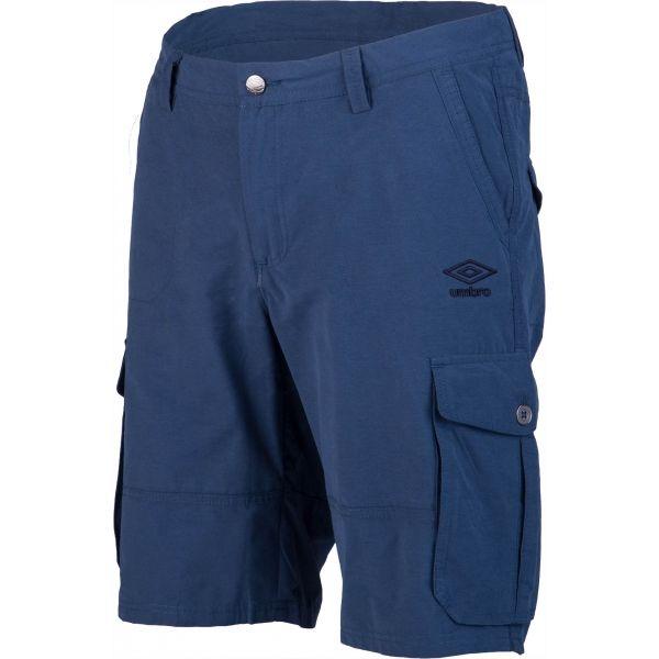 Umbro PETE modrá XXL - Pánské šortky
