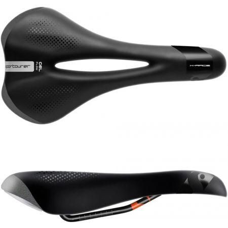 Pánske sedlo na bicykel - Sportourer X-RACE GEL FLOW