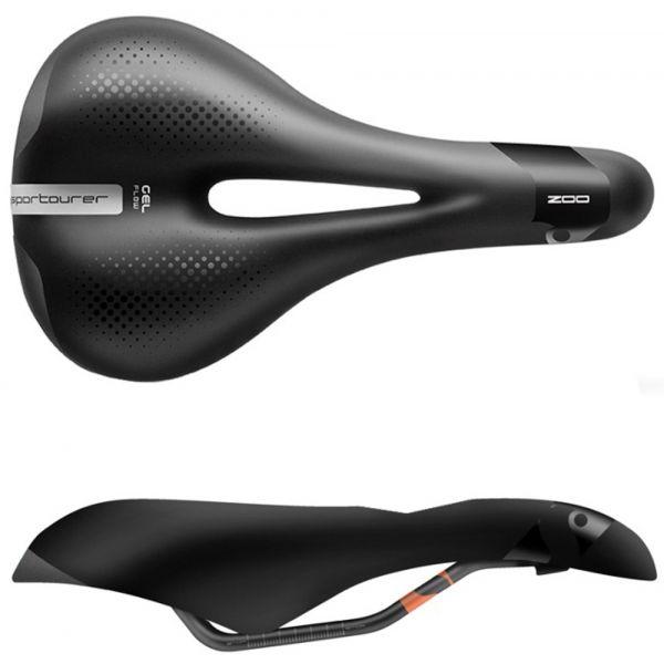 Sportourer ZOO GEL FLOW - Pánske sedlo na bicykel