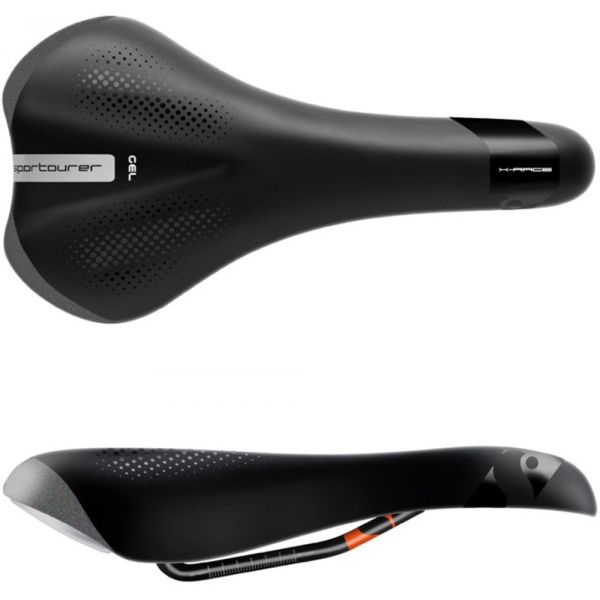 Sportourer X-RACE GEL - Pánske sedlo na bicykel
