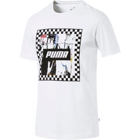 Pánské stylové triko - Puma CHECK GRAPHIC TEE - 1