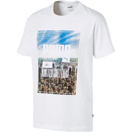 Pánske tričko - Puma PHOTOPRINT SKYLINE TEE - 1