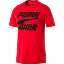 Puma REBEL BASIC TEE - Kurzärmliges Herren T-Shirt