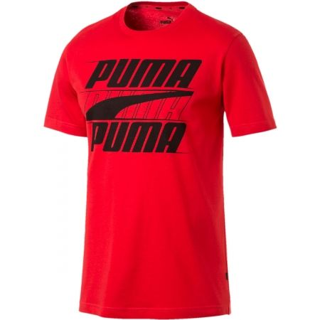 Men's short sleeve T-shirt - Puma REBEL BASIC TEE - 1