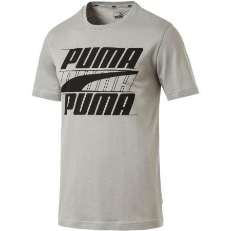 Men's short sleeve T-shirt - Puma REBEL BASIC TEE - 1