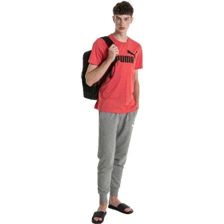 Men's short sleeve T-shirt - Puma SS HEATHER TEE - 3