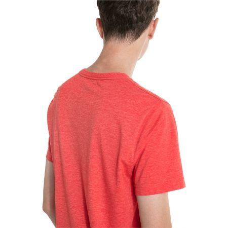 Men's short sleeve T-shirt - Puma SS HEATHER TEE - 5