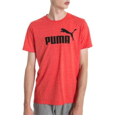 Men's short sleeve T-shirt - Puma SS HEATHER TEE - 4