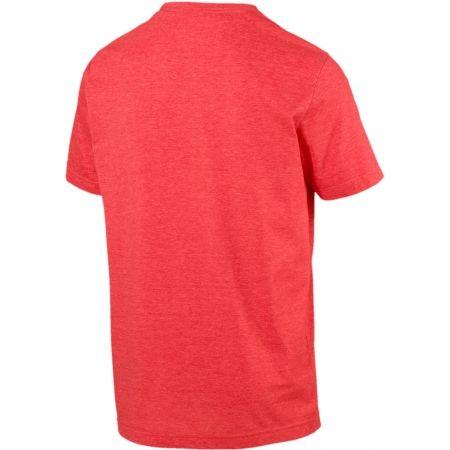 Men's short sleeve T-shirt - Puma SS HEATHER TEE - 2