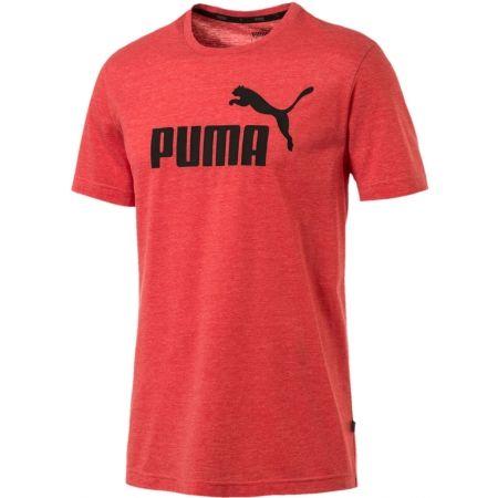 Men's short sleeve T-shirt - Puma SS HEATHER TEE - 1