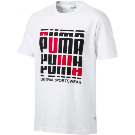 Men's stylish T-shirt - Puma TEE - 1