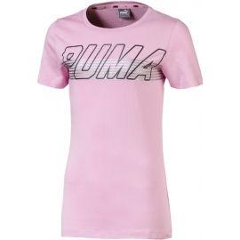 Puma ALPHA LOGO TEE G - Detské tričko