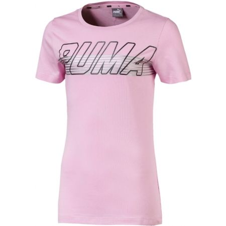 Children's short sleeve T-shirt - Puma ALPHA LOGO TEE G - 1