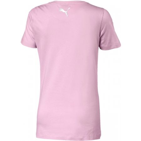 Children's short sleeve T-shirt - Puma ALPHA LOGO TEE G - 2