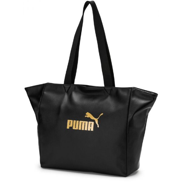 Puma CORE UP LARGE SHOPPER WMN čierna UNI - Dámska štýlová taška