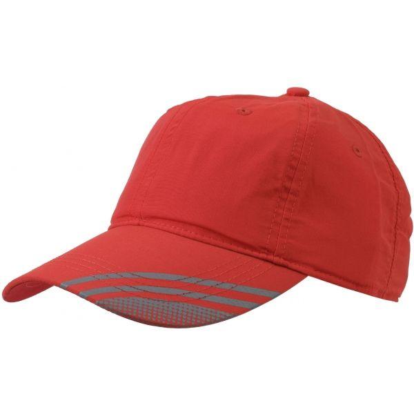 Finmark LETNÍ ČEPICE červená UNI - Letní sportovní čepice