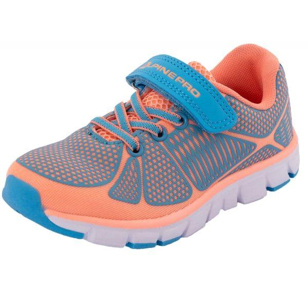 ALPINE PRO FISCHERO oranžová 30 - Dětská sportovní obuv