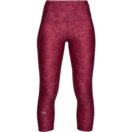 Women's capri pants - Under Armour HG ARMOUR CAPRI PRINT - 1