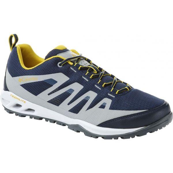Columbia VAPOR VENT modrá 8.5 - Pánska outdoorová obuv