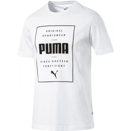 Men's T-shirt - Puma BOX PUMA TEE - 1