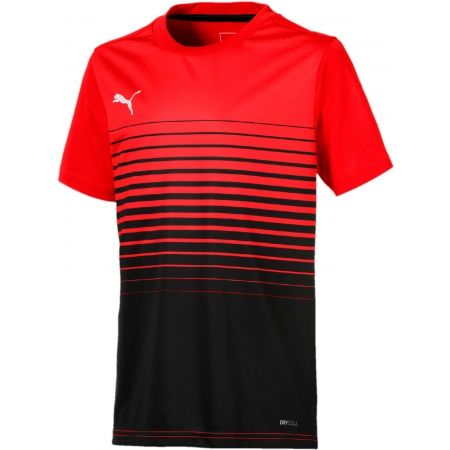 Puma FTBL PLAY GRAPHIC JNR - Tricou sport de copii