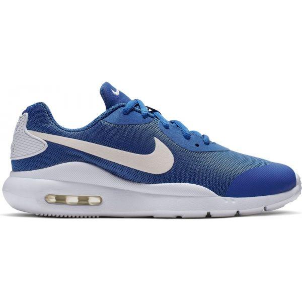 Nike AIR MAX OKETO modrá 3.5 - Dětské vycházkové boty