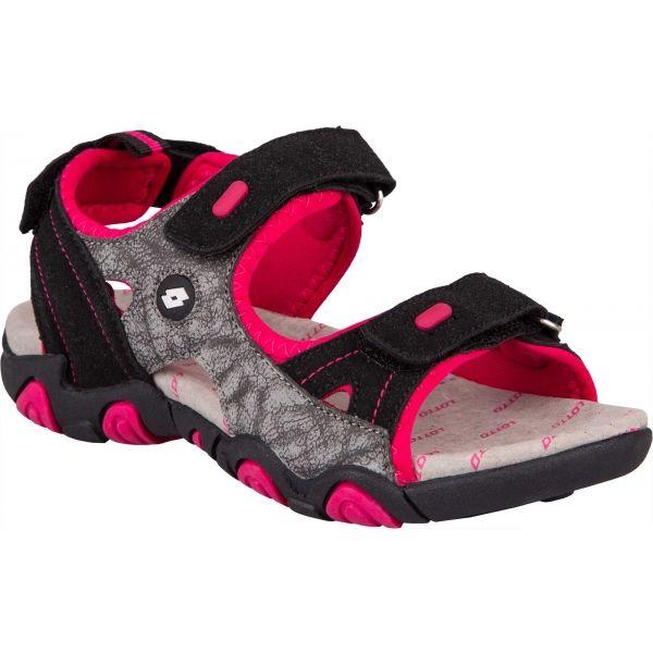 Lotto MATEO růžová 34 - Dětské sandály