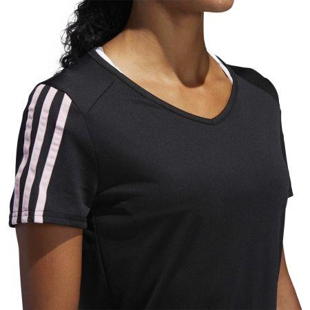 Dámské sportovní tričko - adidas RUN 3S TEE W - 8