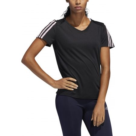 Dámské sportovní tričko - adidas RUN 3S TEE W - 4