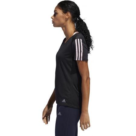 Dámské sportovní tričko - adidas RUN 3S TEE W - 6