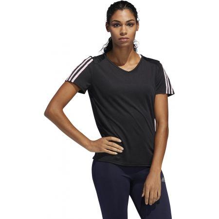 Dámské sportovní tričko - adidas RUN 3S TEE W - 3
