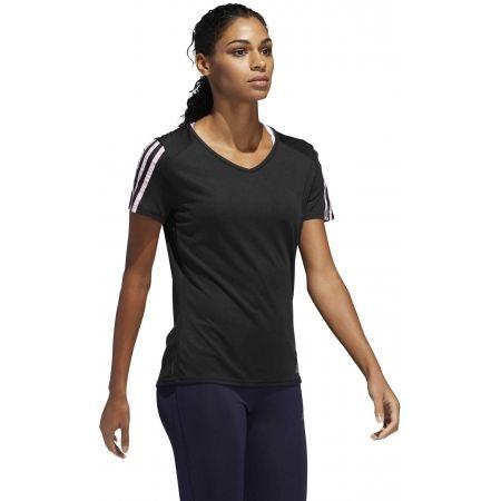 Dámské sportovní tričko - adidas RUN 3S TEE W - 5