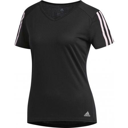 Dámské sportovní tričko - adidas RUN 3S TEE W - 1