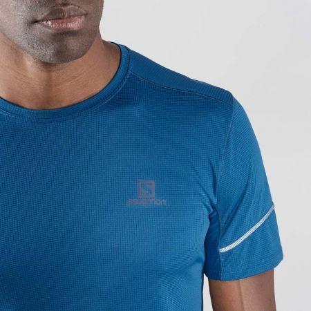Pánské běžecké tričko - Salomon AGILE SS TEE M - 2