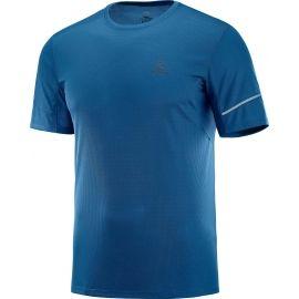 Salomon AGILE SS TEE M - Pánské běžecké tričko