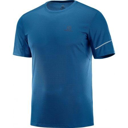 Pánské běžecké tričko - Salomon AGILE SS TEE M - 1
