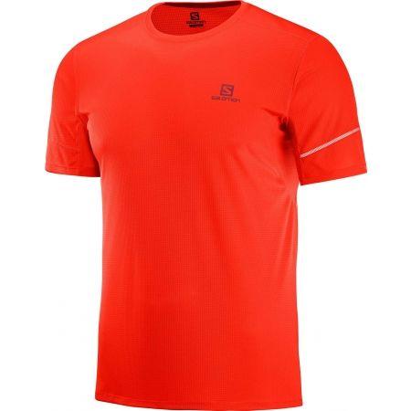 c9c1e1a3eef Pánske bežecké tričko - Salomon AGILE SS TEE M - 1
