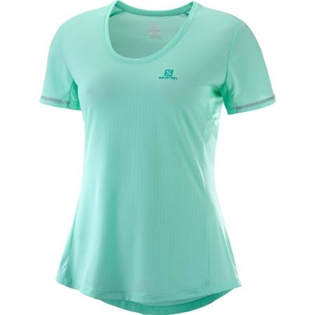 Salomon AGILE SS TEE W - Дамска тениска за бягане
