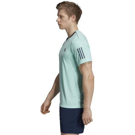 Pánske tričko - adidas CLUB 3 STRIPES TEE - 5