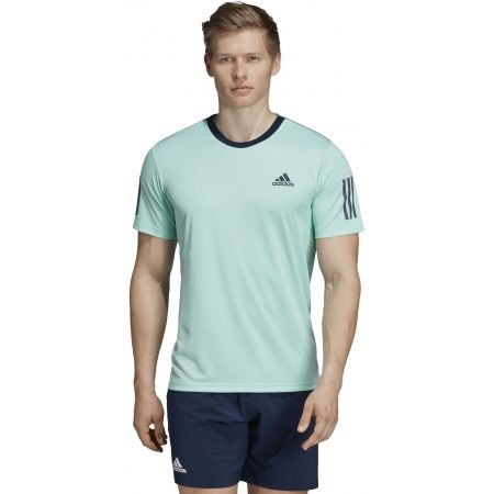 Pánske tričko - adidas CLUB 3 STRIPES TEE - 4
