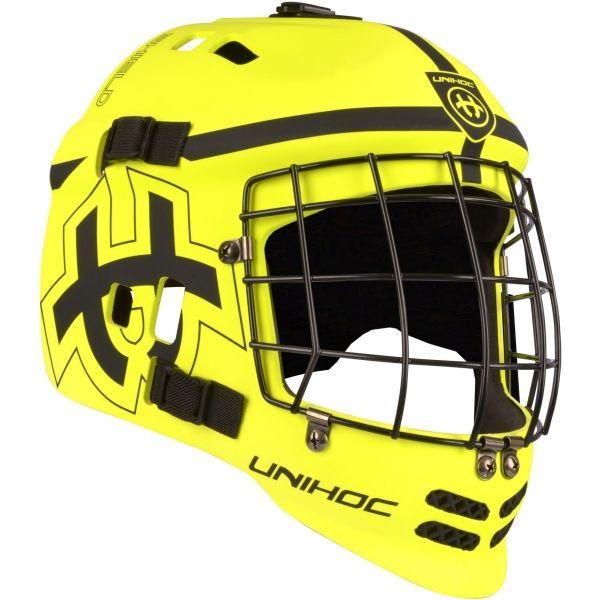 Unihoc MASK SHIELD - Juniorská florbalová maska 1554997e348