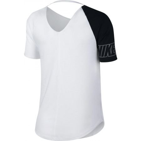 Дамска спортна блуза - Nike W MILER TOP SS SD - 2