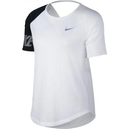 Дамска спортна блуза - Nike W MILER TOP SS SD - 1