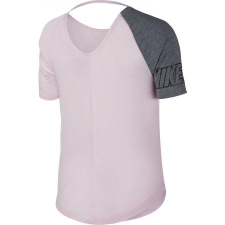 Дамска спортна блуза - Nike W MILER TOP SS SD - 4