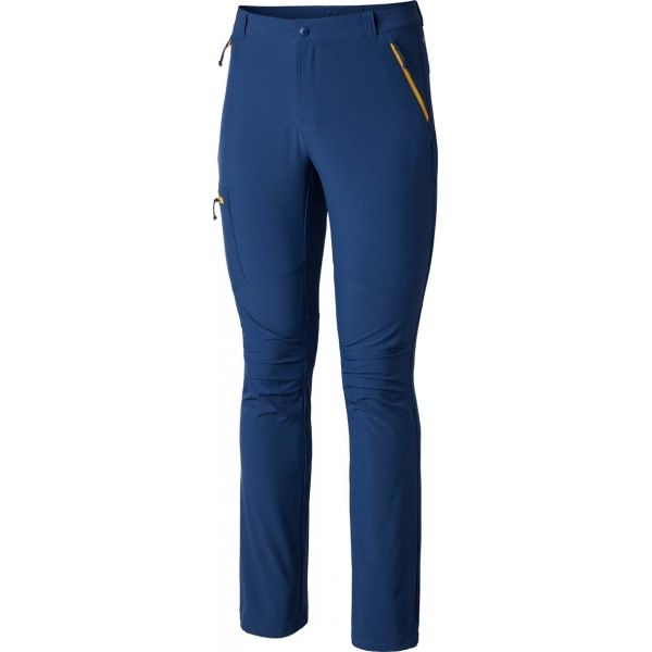 Columbia TRIPLE CANYON PANT tmavě modrá 34/32 - Pánské outdoorové kalhoty