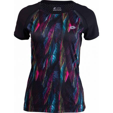 5cc43232d874 Dámske športové tričko - Lotto X FIT II TEE PRT 1 RGL PL W - 1