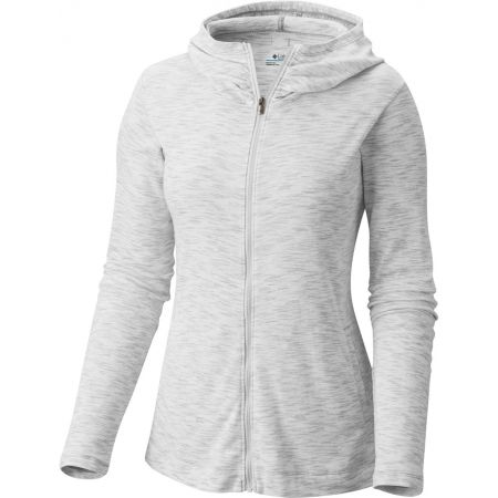 Women's outdoor sweatshirt - Columbia OUTERSPACED FULL ZIP HOODIE - 1