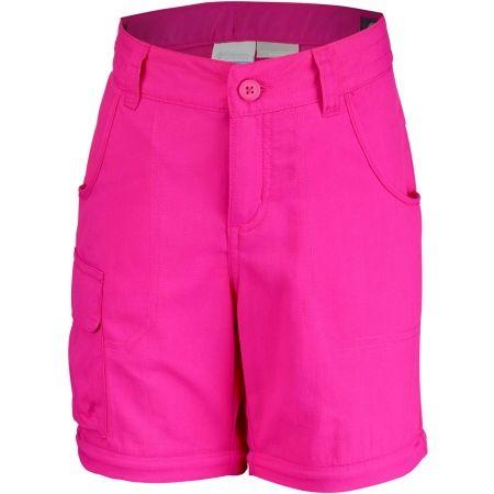 Dívčí outdoorové kalhoty - Columbia SILVER RIDGE III CONVT G - 3
