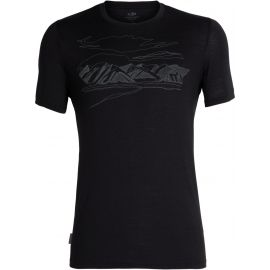 Icebreaker TECH LITE SS CREWE CORONET PEAK - Men's functional T-shirt